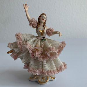 Vintage Dresden Dancing Figurine
